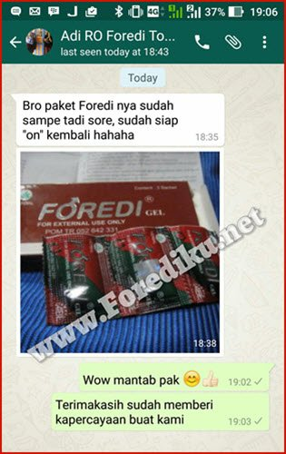 Review foredi gel